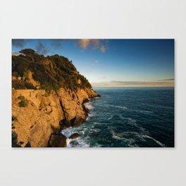 Portofino Sunset  Canvas Print
