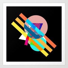 """Collage, """"RITT"""" Art Print"""