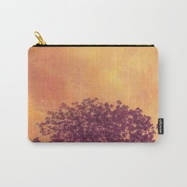 Red Violet Lone Tree and Fall Sunlight Carry-All Pouch