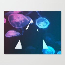 Three Points where Two Lines Meet Canvas Print