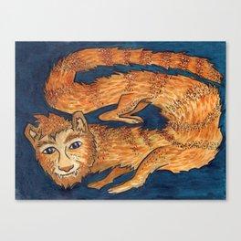 Spirit Animal Mongoose Canvas Print