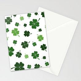 St Patricks day pattern Stationery Cards