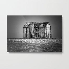 Fishermans Hut Metal Print