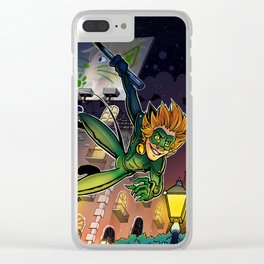 Chat of the Night Clear iPhone Case