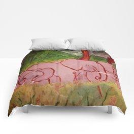 Elephant Family Comforters