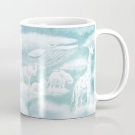 Ocean Meets Sky Endpapers (front) Coffee Mug
