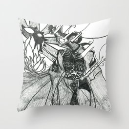 The Future of vision Throw Pillow