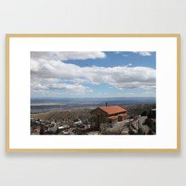 View From Jerome, Az. No. 1 Framed Art Print