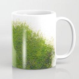 Love_Nature_Green_Durian_abstract_watercolour Coffee Mug