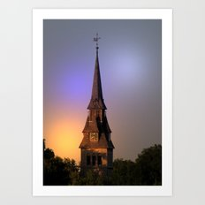 village Church Art Print