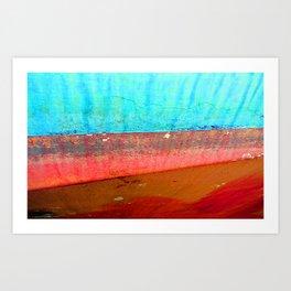 Tide Out Art Print
