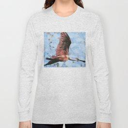 Roseate Spoonbill 2014 Long Sleeve T-shirt