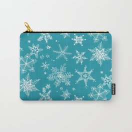 Snow Flakes 05 Carry-All Pouch