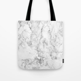 Gray Marble Background Tote Bag