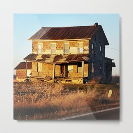 Depleted House Metal Print