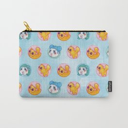 Umie & Mochi VIII - Pattern 2 - Blue Carry-All Pouch