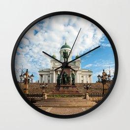 Helsinki 8 Wall Clock