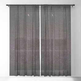 Spaced Out Sheer Curtain