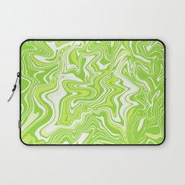 Green Liquid Agate Laptop Sleeve