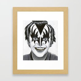 Jack - The Demon Framed Art Print
