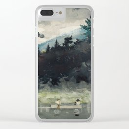 Winslow Homer - A Fisherman's Day, 1889 Clear iPhone Case