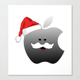 Apple Christmas Canvas Print