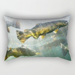 Trout Rectangular Pillow