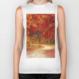 Autumn Landscape 1 | Paysage d'Automne 1 Biker Tank
