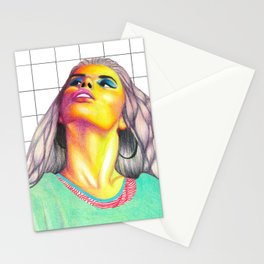 Retro Turquoise Stationery Cards