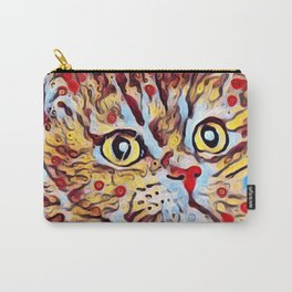 Artsy Cat Carry-All Pouch
