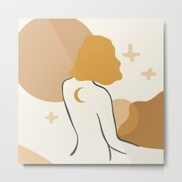 She's The Moon and the Stars Metal Print