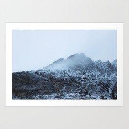 glacier ntl park part 3 Art Print