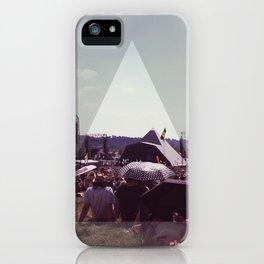 Glastonbury Pyramid stage iPhone Case