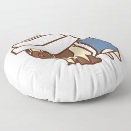 Puglie Coffee Floor Pillow