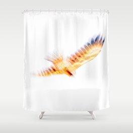 In Flight Kite - JUSTART (c) Shower Curtain