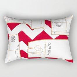 Seaside Stripes Slopers Rectangular Pillow
