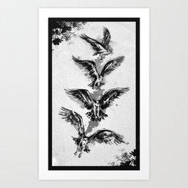 For the Birds Art Print