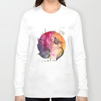 flora Long Sleeve T-shirts featuring Flora by Christine Lindstrom