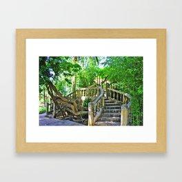 romantic place Framed Art Print