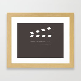 Take 1 Framed Art Print