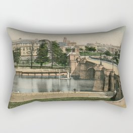 York general view and castle 1900 Rectangular Pillow