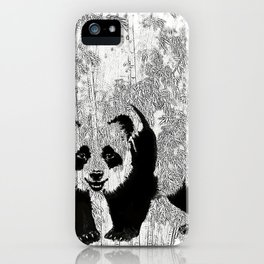 Panda iPhone Case
