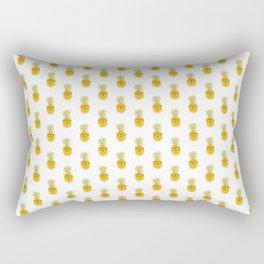 Funny Pineapple Face Rectangular Pillow