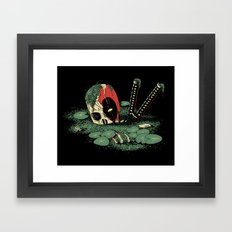 Dead Pond Framed Art Print