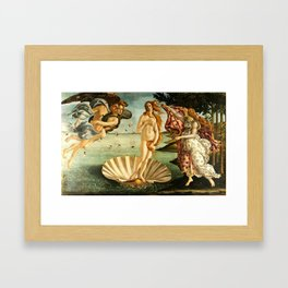 Sandro Botticelli The Birth Of Venus Framed Art Print