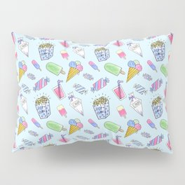 Cute candy and ice-cream pattern Pillow Sham