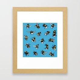 Bombus Hortorum Framed Art Print