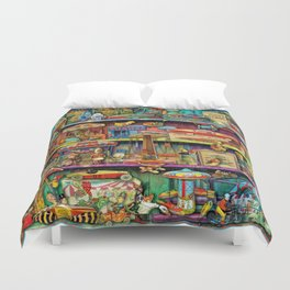 Toy Wonderama Duvet Cover