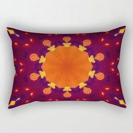 Gonna be a Warm One Rectangular Pillow