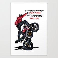 Real Life Art Print